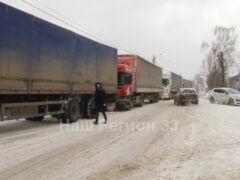 Из-за непогоды Ковров погрузился в транспортный коллапс
