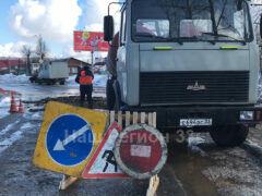 Коммунальная авария на ул. Чкалова