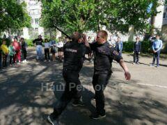 В Коврове прошла всероссийская акции «Зарядка со стражем порядка»
