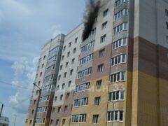 Сгорела новая квартира