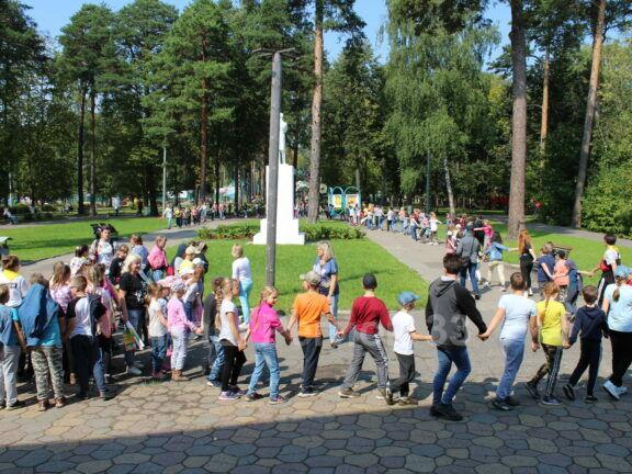 Ковров присоединился к акции «Хоровод мира»