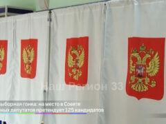 Предвыборная гонка: на место в Совете народных депутатов претендуют 125 кандидатов