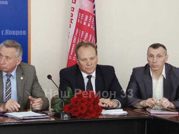 Анатолий Зотов сложил полномочия главы города. На его место временно заступил Юрий Морозов